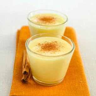 crème anglaise à la cannelle