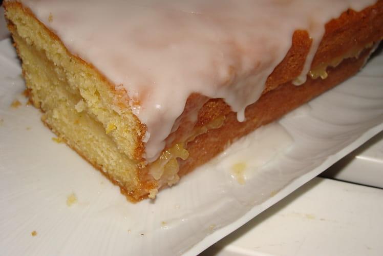 Cake fourré au citron