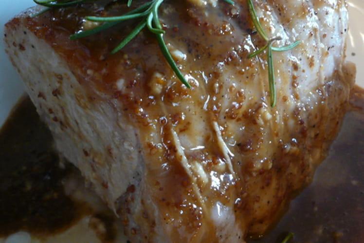 Roti de porc gingembre et soja