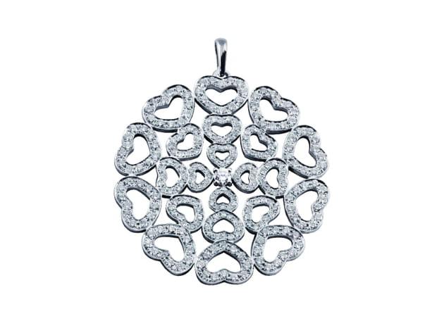 "Pendentif ""Promesse - Multi coeurs diamants"" de Arthus Bertrand"