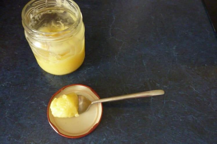Lemon curd au jus de citron