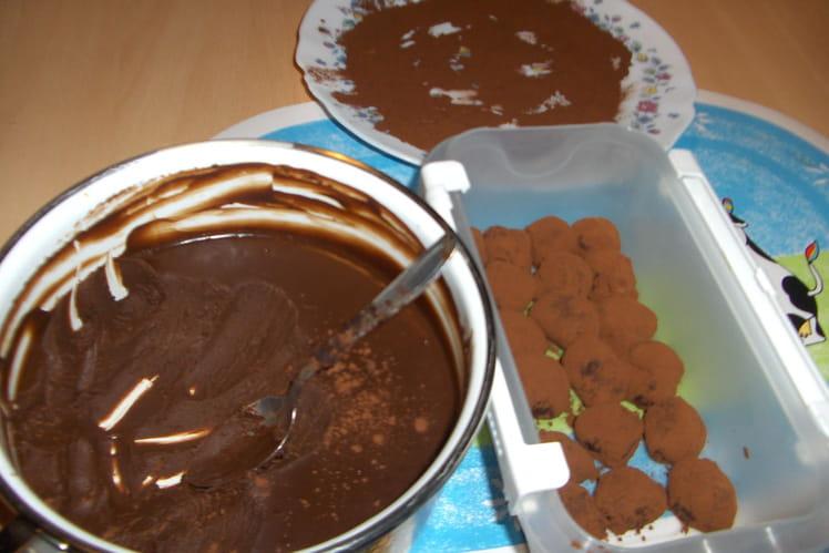 Les choco pam's truffes
