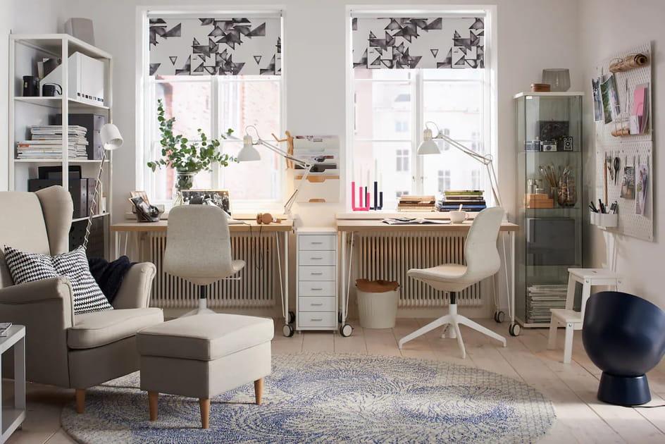 Bureau LINNMON/KRILLE IKEA