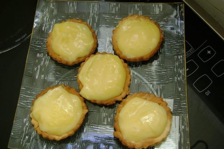 Tartelettes au citron toutes simples