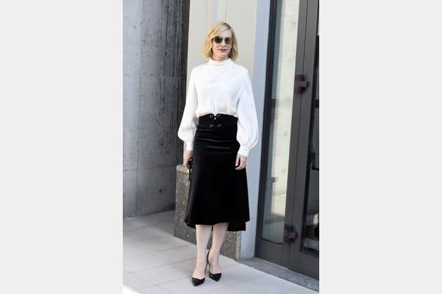 Cate Blanchett au défilé Girogio Armani