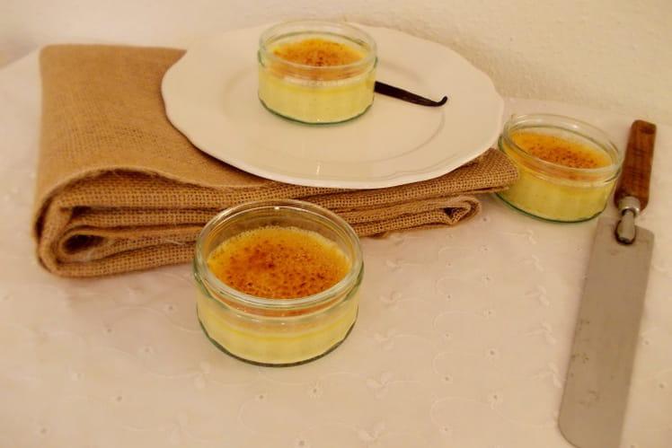 Crème brûlée onctueuse
