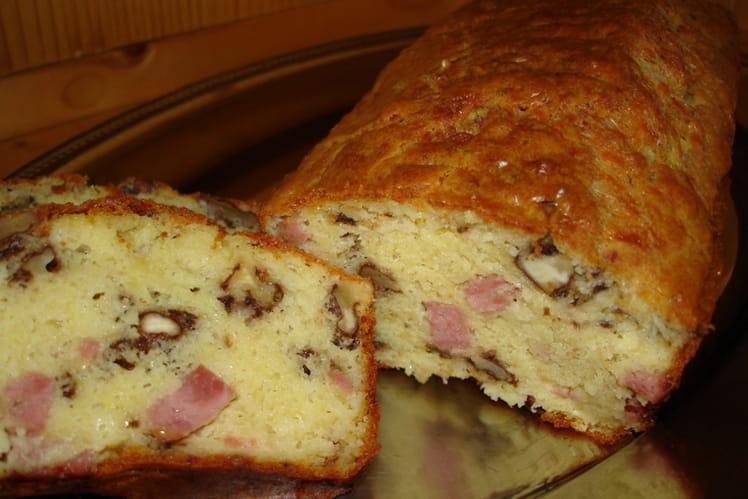 Cake jambon-noix