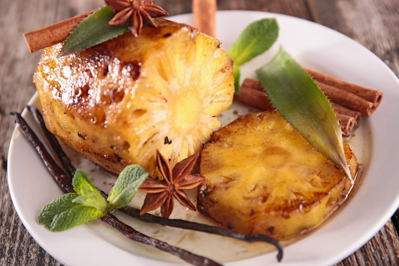 Recettes à l'ananas