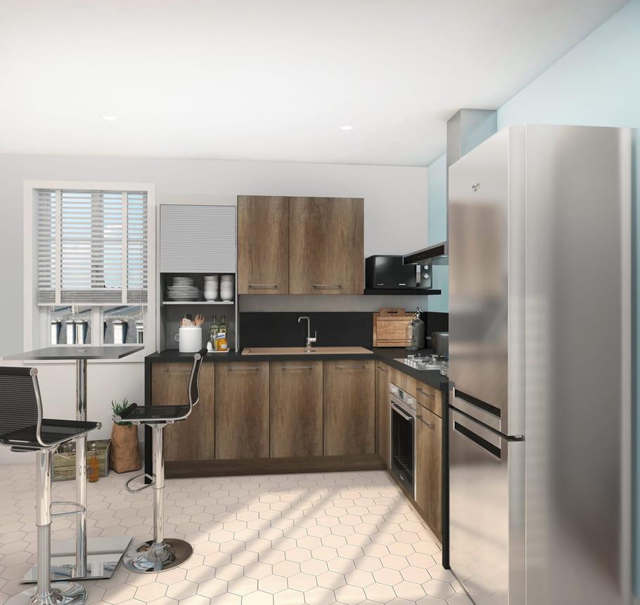 cuisine thea de but. Black Bedroom Furniture Sets. Home Design Ideas