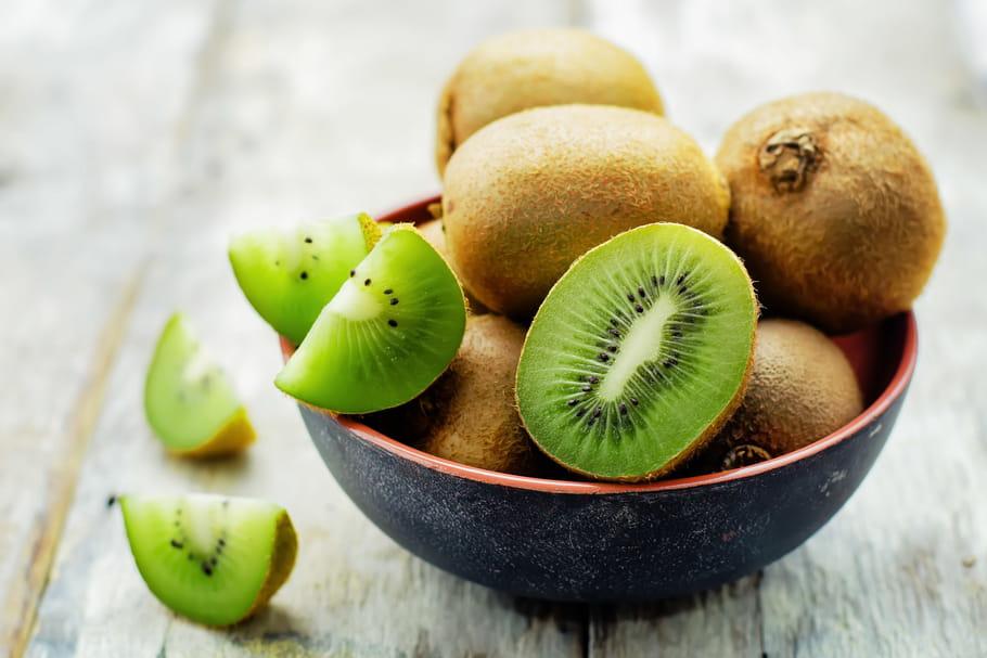 Kiwi: bienfaits santé, calories, précautions