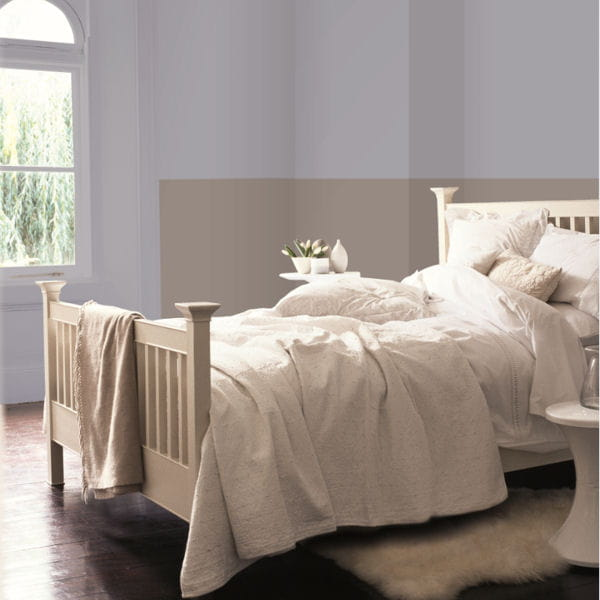 peinture beige naturel le mat dulux valentine. Black Bedroom Furniture Sets. Home Design Ideas