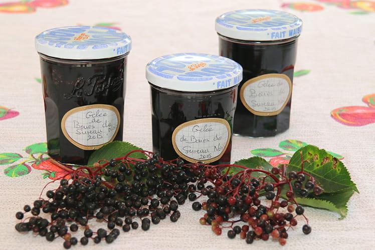 Gelée de baies de sureau noires