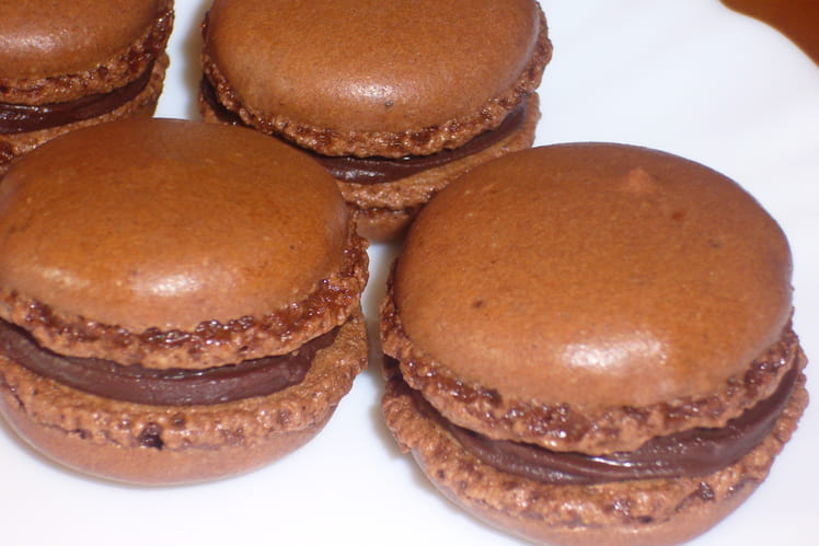 Macarons au chocolat (recette simple)