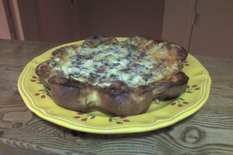 Clafoutis de mozzarella