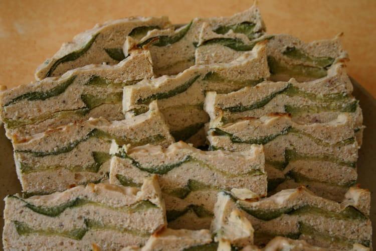 Terrine de saumon aux courgettes