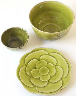 assiette 'syam' de jars céramistes