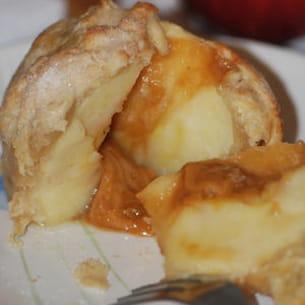 pomme en croûte au coeur gourmand