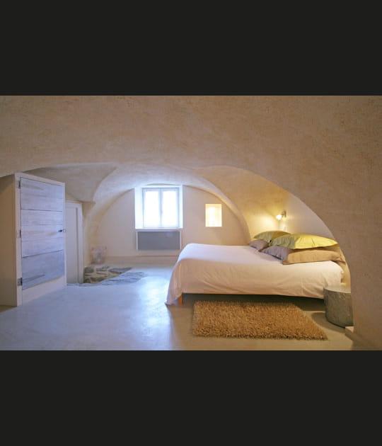 Chambre sous les voûtes