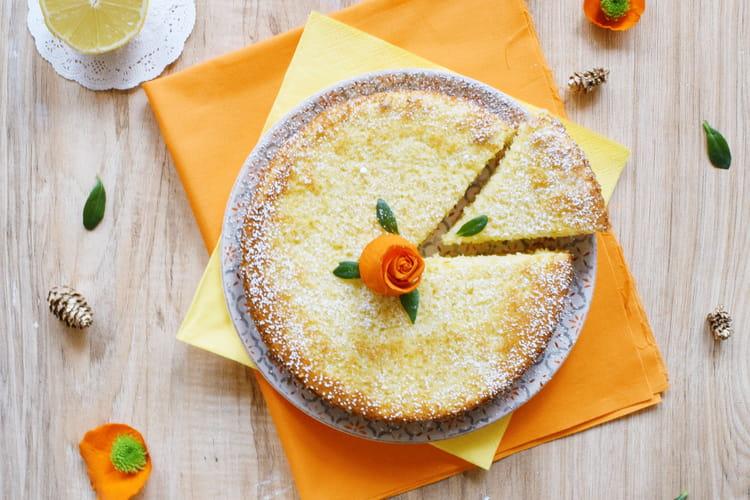 Gâteau citron-amandes sans gluten