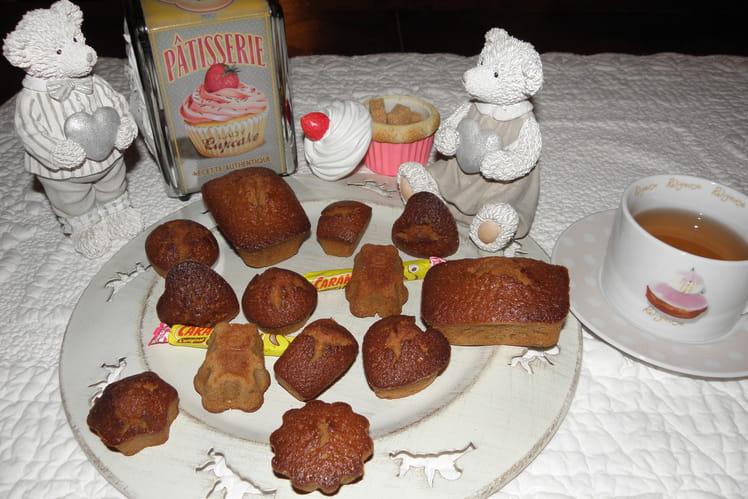 Mini cakes aux carambars