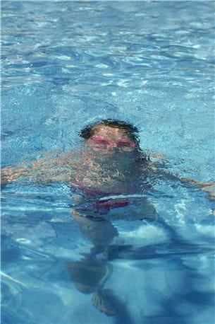 la respiration est la clé pour faire durer votre séance de natation.