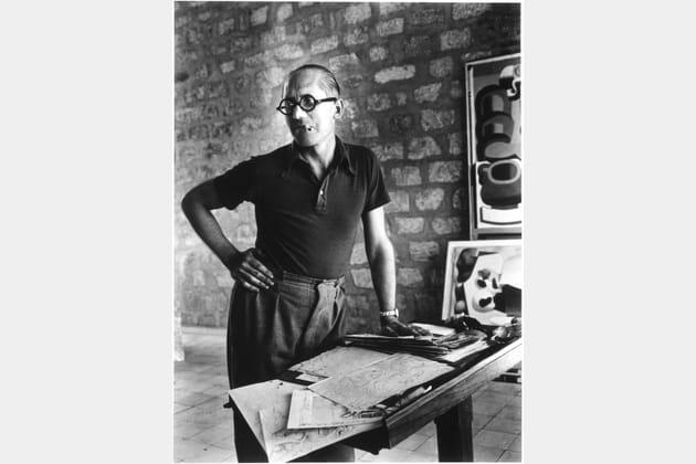 Le Corbusier photographié par Rogi André