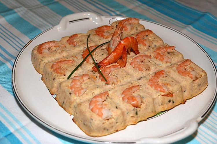 Recette de terrine de saumon aux crevettes roses la for Entree simple et raffinee