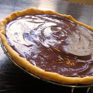 tarte au chocolat minute