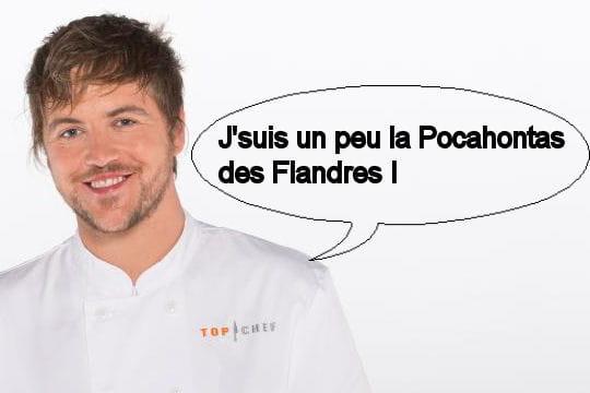 Florent : J'suis un peu la Pocahontas des Flandres !