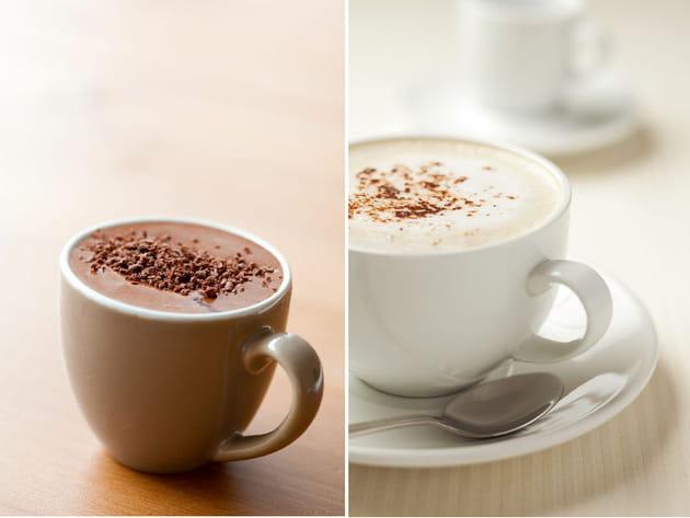 Chocolat chaud en poudre ou cappuccino ?