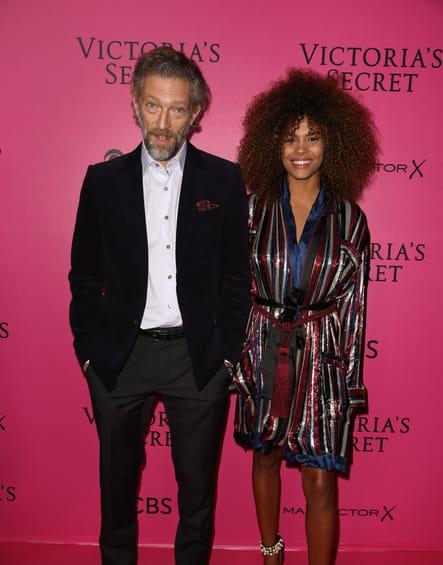 Vincent Cassel et sa petite amie Tina Kunakey