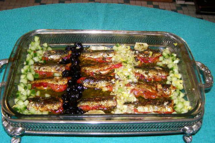 Sardines aux poivrons