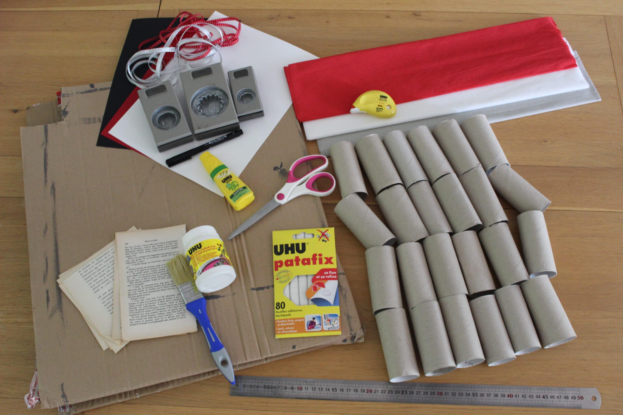 Comment Faire Un Calendrier Fait Maison un calendrier de l'avent récup' à faire soi-même