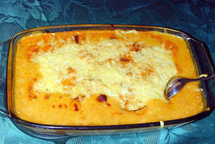 recette de gratin de potiron à la créole : la recette facile