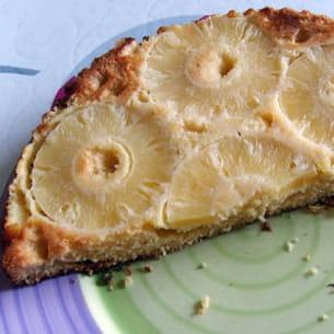 gâteau express à l'ananas