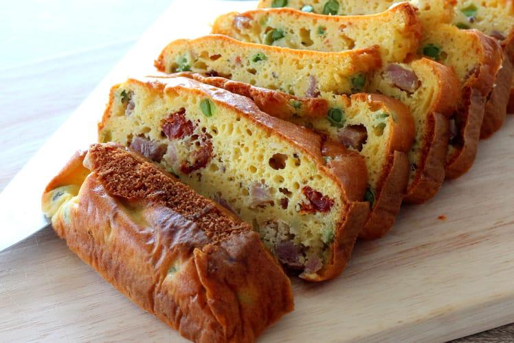 Cake fromage frais et jambon Vendéen