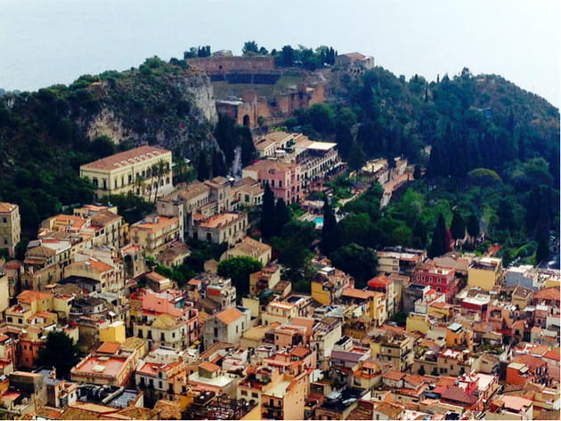 Vue depuis Castelmola