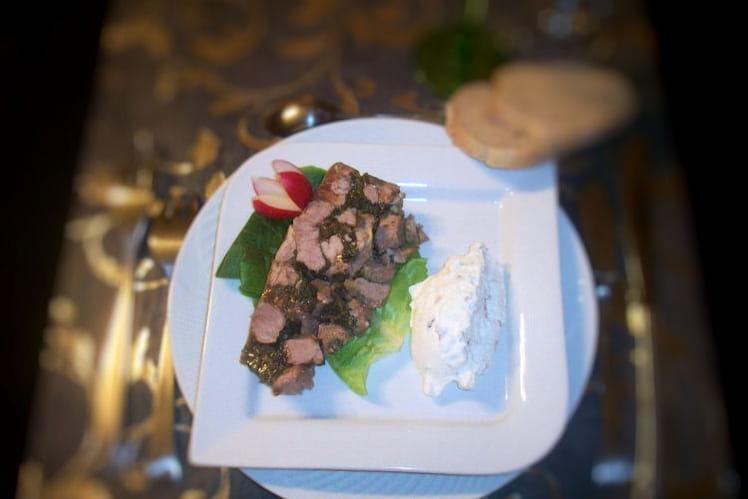 Recette de terrine d 39 agneau au persil la recette facile - Cuisiner epaule d agneau ...