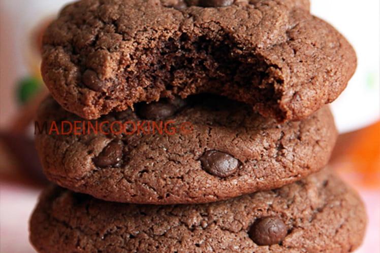Cookies moelleux nutella et aux pépites de choco