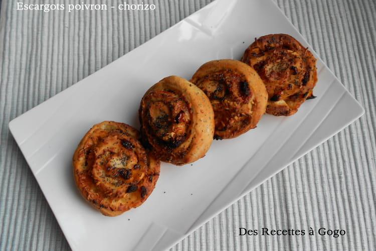 Escargots poivron – chorizo