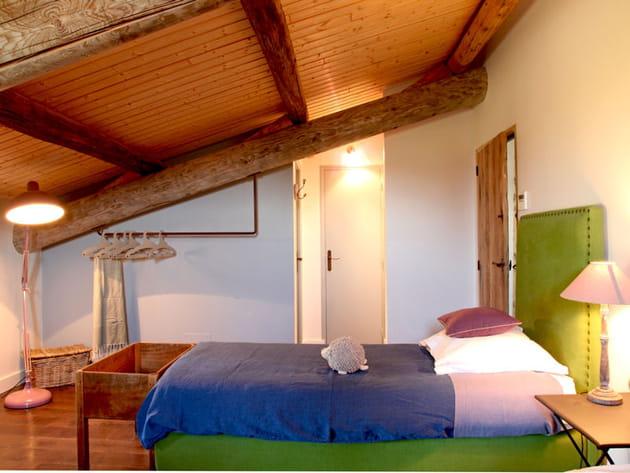 une chambre color e et ludique. Black Bedroom Furniture Sets. Home Design Ideas