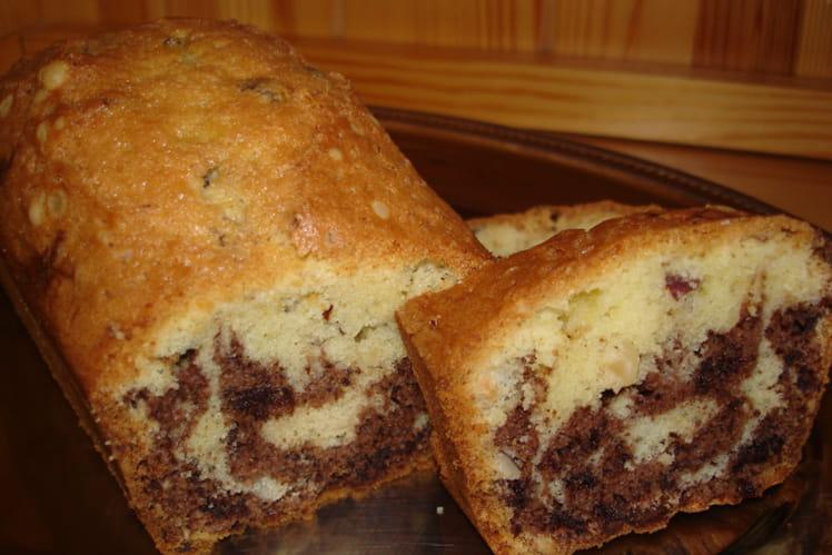 Cake chocolat-noisettes