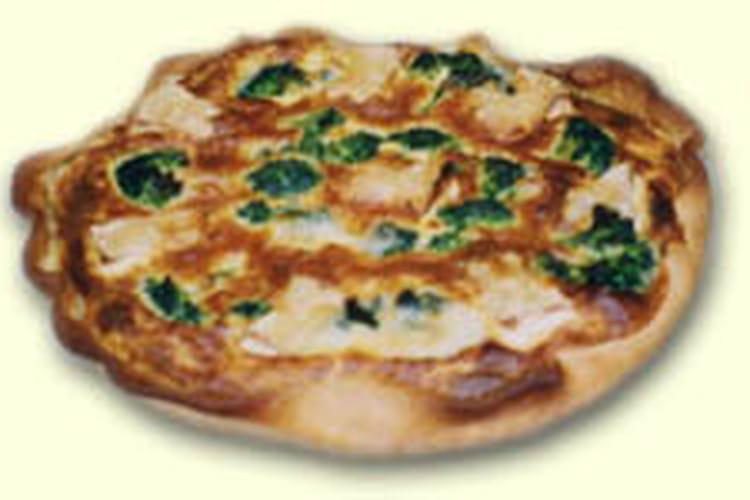 Tarte au camembert et aux brocolis