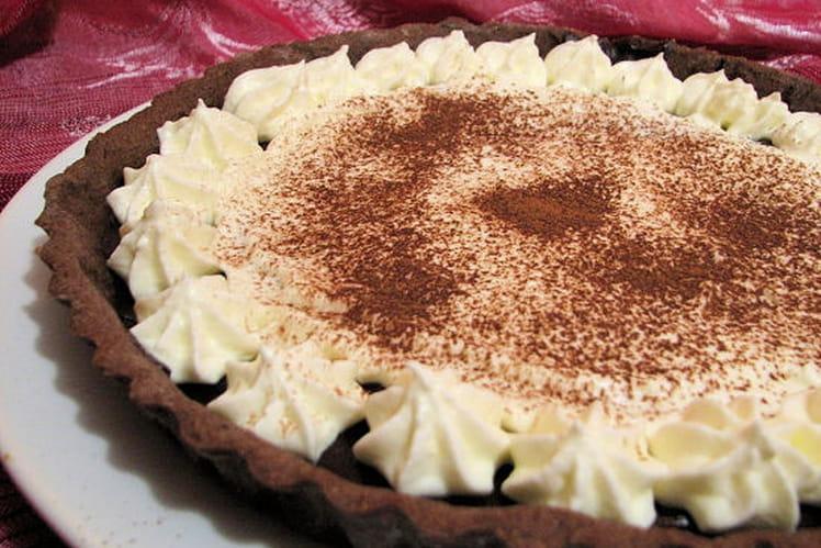 Recette de tarte fondante choco mascarpone la recette facile - Cuisiner avec du mascarpone ...