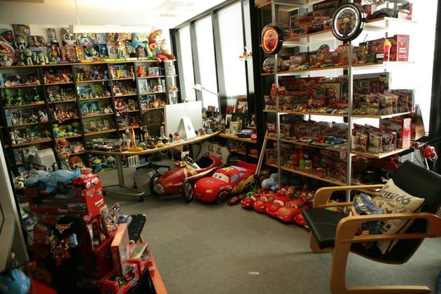 Le bureau de John Lasseter