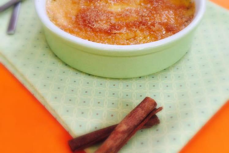 Crème brûlée à la canelle-anis étoilé