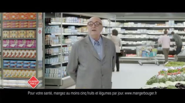 Jean-Pierre Coffe défend Leader Price