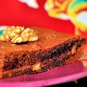 brownies pralinés aux noix