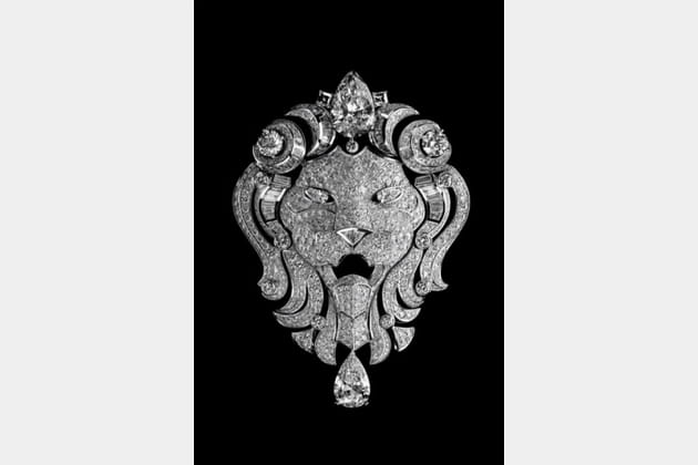 "La broche ""Lion Royal"""
