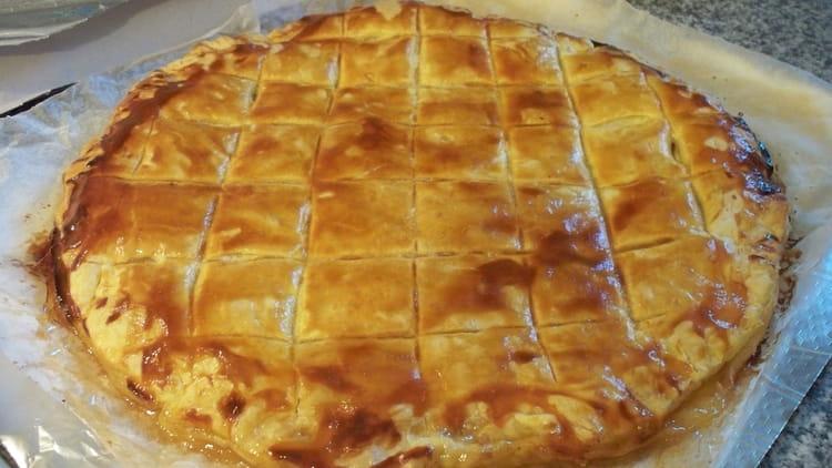 Recette de galette des rois aux pommes la recette facile - Recette facile galette des rois ...